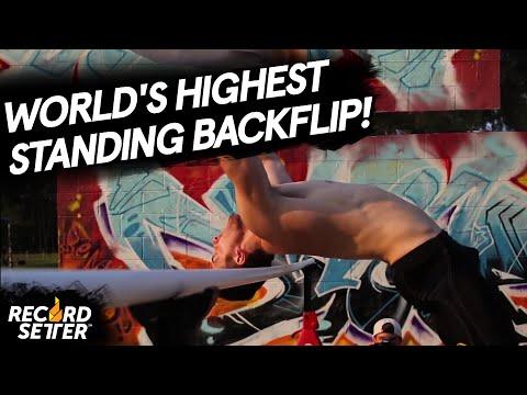 Highest Standing Backflip