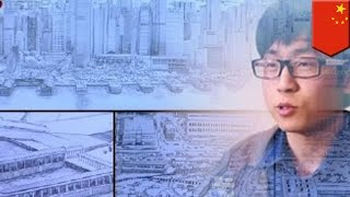 Super Eidetic memory: Artist draws 7,000-building Hong Kong panorama from memory
