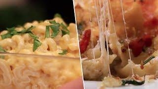 Easy VS Ultimate Mac & Cheese- Buzzfeed Test #104