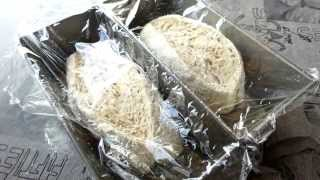 Rising bread - time lapse