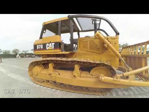 Jakarta Auctions - Caterpillar D7G Bulldozer - Crawler Tractor