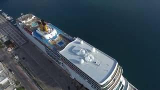 Limani Kalamata cruise ship Costa Neoromantica