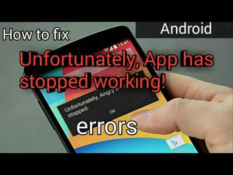 how-to-fix-'unfortunately-app-has-stopped'-error- -android- -in-hindi