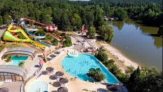 Camping Capfun 4* Le Moulinal - Animations, Piscines et Tobbogans, Etang