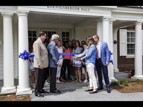 Millbrook School - Koenigsberger Hall Dedication