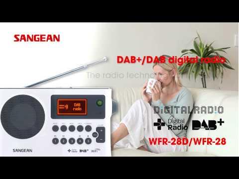 Sangean WFR-28D WFR-28 Internet Radio / DAB+ / FM-RDS / USB Network Music Player Digital Receiver