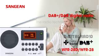 Sangean WFR-28D WFR-28 Internet Radio / DAB+ / FM-RDS / USB Network Music Player Digital Receiver