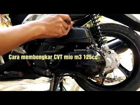 cara-membongkar-cvt-mio-m3-125cc