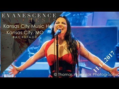 Evanescence - Synthesis Backstage   Kansas City Music Hall , MO (11.12.2017)