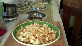 Cooking Poutine! Canadian Classic!hd