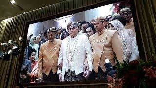 Memakai Adat Jawa, Akad Nikah Anak BG Buwas Dihadiri Jokowi JK EDIT