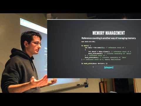 Intro to the Rust programming language