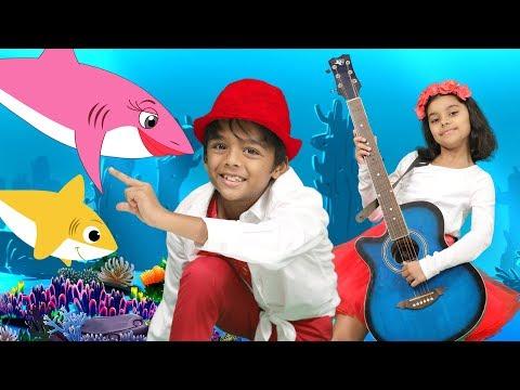 Ba Shark Dance Remix  Dance Along Song  Shark Doo Doo Songs for Children