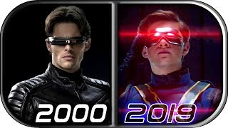 EVOLUTION of CYCLOPS in MOVIES (2000-2019) X-Men Dark Phoenix Cyclops movie scene 2019 cyclops death
