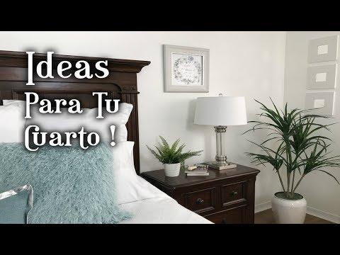 IDEAS PARA DECORAR EL CUARTO/DIY/DECORACIÓN DE LA HABITACIÓN/DORMITORIO
