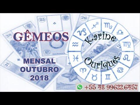 GÊMEOS - MESA REAL - OUTUBRO 2018 COM KARINE OURIQUES