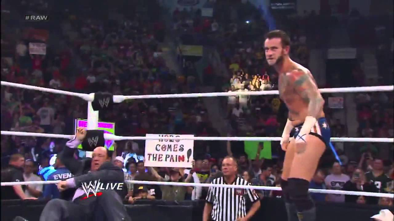 Download Brock Lesnar Destroys CM Punk Monday Night RAW