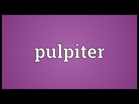 Header of pulpiter