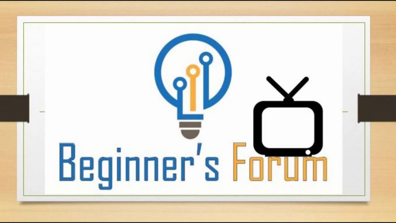 Beginner's Forum - Here to help the beginners