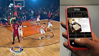 FLOYD MAYWEATHER TALKING TRASH ON IG! BET CAM 2 MILLION DOLLARS TO HIT 5 3's! - NBA 2K18 MyCAREER S2
