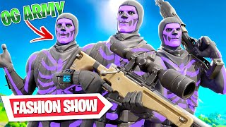 I STREAM SNIPED FORTNITE FASHIONS SHOWS and TRICKSHOTTED.. (SO FUNNY)