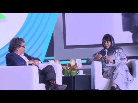 Jammu Kashmir Chief Minister Mehbooba Mufti at India Ideas Conclave 2017 | UNT