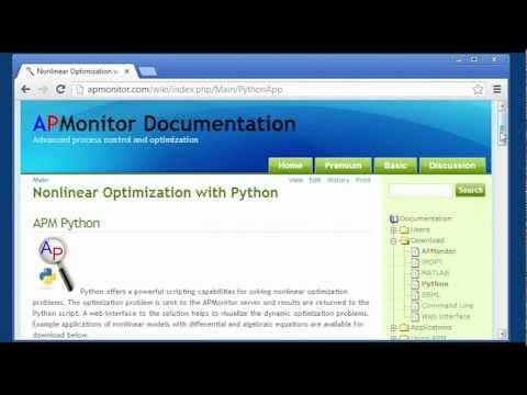 Python Tutorial for Engineering Optimization