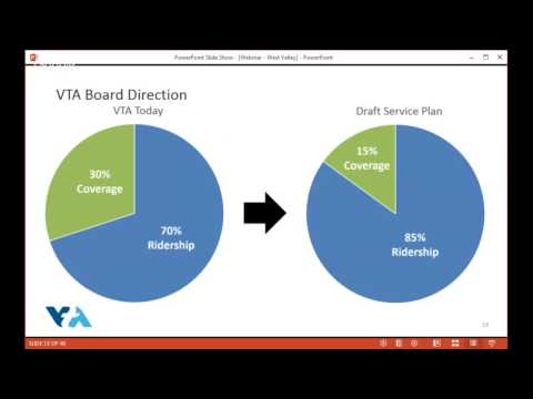 Webinar about VTA's Transit Redesign in Cupertino, West Valley & Sunnyvale