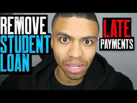 REMOVE STUDENT LOANS LATE PAYMENTS || COLLECTION VALIDATION LETTERS || FIX MY CREDIT