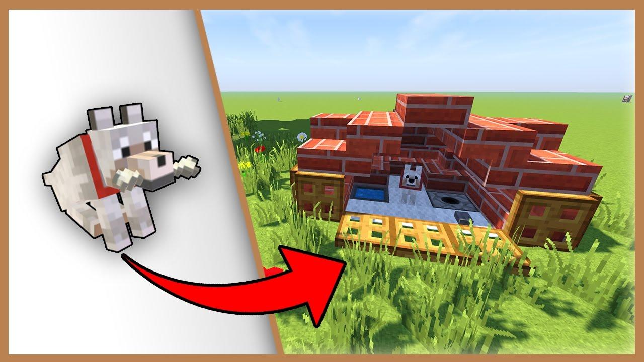 Come Costruire Una Cuccia come costruire una casa per i cani - minecraft best build