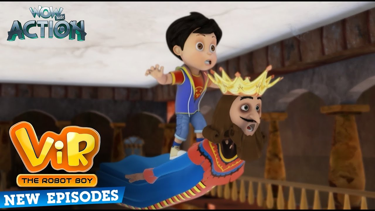 New Episodes Of Vir The Robot Boy   New Episodes Compilation   10   Wow Kidz Action