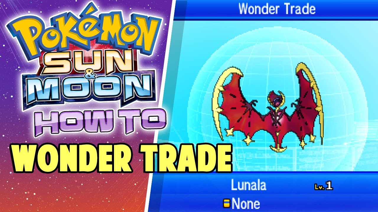 Every Available Pokémon Trade In Ultra Sun/Ultra Moon ...