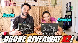 DRONE GIVEAWAY X2! - TDR Pythons! More for YOU SUBSCRIBERS! 😆👍👍