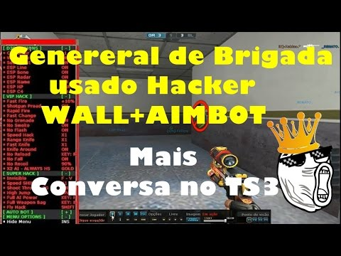 Sergio General de Hacker + Conversa no TS - CrossFire AL