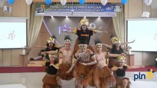 Tari Sajojo Siswa PLN Angkatan 51 Udiklat Bogor