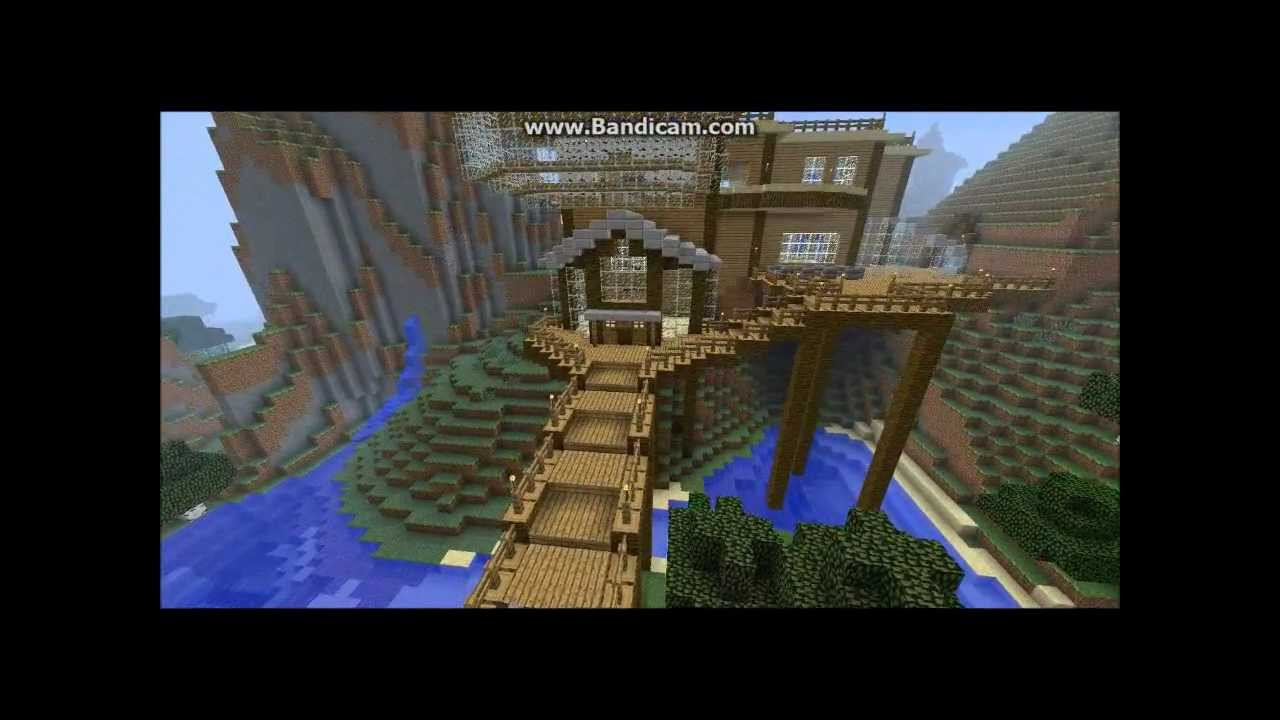 top 2 best minecraft houses - Biggest House In The World 2015
