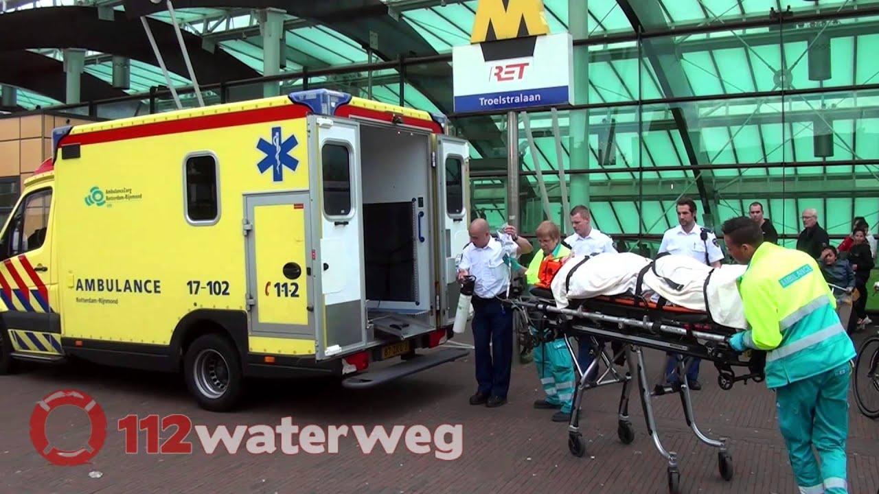 Jongen 15 zwaargewond bij stunt schiedam metrostation troelstralaan schiedam 18 04 2014 - Turquoise ruimte van de jongen ...