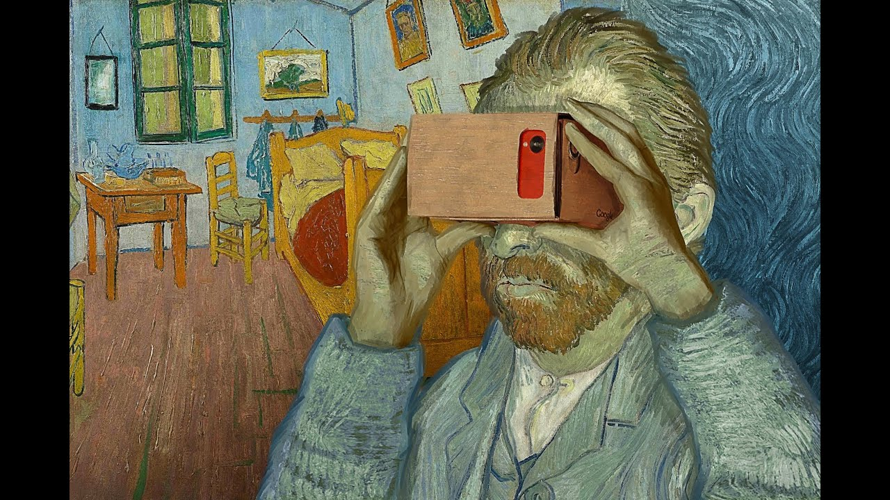 veejays com | art | virtual bedrooms, van gogh in vr - walkthrough
