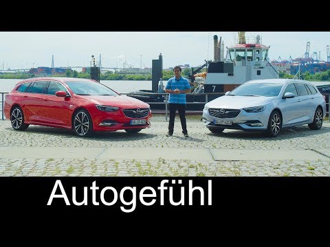 Opel Insignia Sports Tourer FULL REVIEW test all-new neu Vauxhall Insignia B OPC line