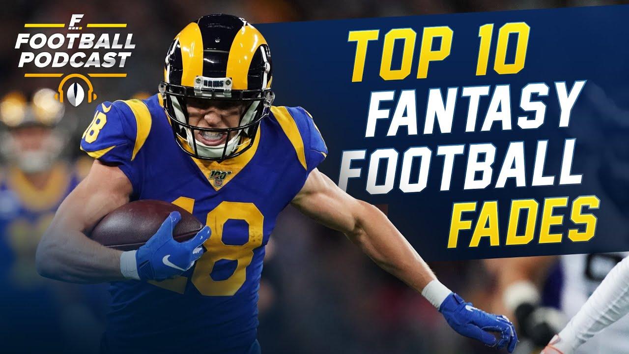 Top 10 Fantasy Football Fades 2020 Fantasy Football Youtube