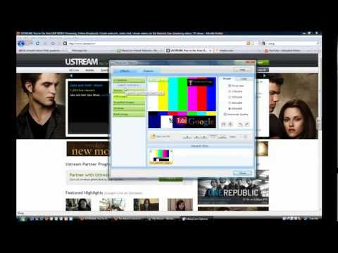 How To Stream Your Webcam Live Online