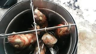 коптить рыбу самому , в домашних условиях