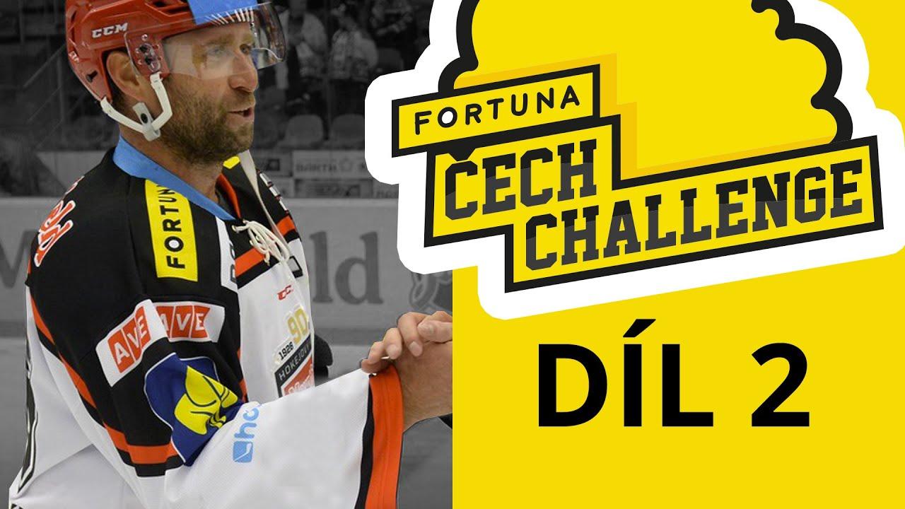 6bcbead32dcbf Fortuna Čech Challenge - díl 2 - hokejová lekce Jardy Bednáře - YouTube