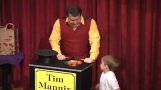 Magician Tim Mannix @ Hollywood Magic Castle