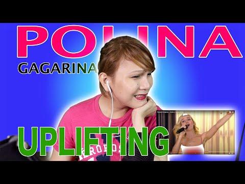 POLINA GAGARINA  ( Полина Гагарина — Небо в глазах (Live)- SKY IN THE EYE - REACTION