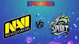 [RU] Natus Vincere vs. Team Spirit - EPICENTER Major 2019 CIS Closed Qualifier BO1 @4liver