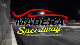 Madera Speedway Racing Action from April 13th / Late Models and Modifieds