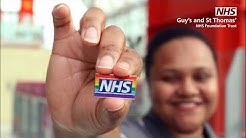 What is an NHS Rainbow Badge?