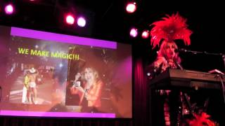 """Margarita Pracatan performs """"Call Me Maybe"""" (from her new show """"Stranger in the Night"""")"""
