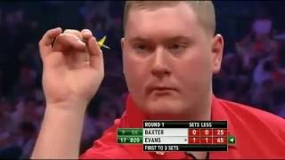 Russ Bray Worst Caller Ever * Ronnie Baxter 2014 PDC  World Championships